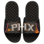 ISlide Phoenix Suns Black Statement Jersey Split Slide Sandals