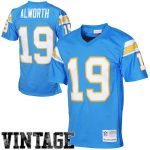 Mitchell & Ness Lance Alworth San Diego Chargers Powder Blue 1963 Retired Player Vintage Replica Jersey