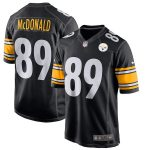 Nike Vance McDonald Pittsburgh Steelers Black Game Jersey