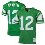 Mitchell & Ness Joe Namath New York Jets Green Big & Tall 1968 Retired Player Replica Jersey