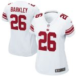 Nike Saquon Barkley New York Giants Women's White Game Jersey