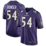 Nike Tyus Bowser Baltimore Ravens Purple NFL Draft Game Jersey