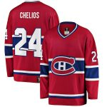 Fanatics Branded Chris Chelios Montreal Canadiens Red Premier Breakaway Heritage Player Jersey