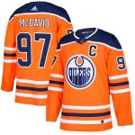adidas Connor McDavid Edmonton Oilers Orange Authentic Player Jersey
