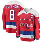 Fanatics Branded Alexander Ovechkin Washington Capitals Red Alternate Breakaway Player Jersey