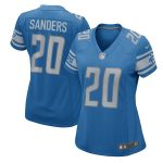 Nike Barry Sanders Detroit Lions Women's Blue 2017 Retired Player Game Jersey
