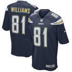 Nike Mike Williams Los Angeles Chargers Navy Game Jersey