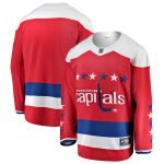 Fanatics Branded Washington Capitals Red Alternate Breakaway Blank Jersey
