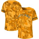 Nike Oakland Athletics Gold Camo Jersey