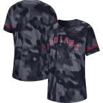 Nike Cleveland Indians Navy Camo Jersey