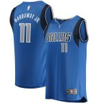 Fanatics Branded Tim Hardaway Jr Dallas Mavericks Royal Fast Break Replica Jersey - Icon Edition