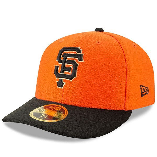6ca930d8597 New Era San Francisco Giants Orange/Black 2019 Batting Practice Home Low  Profile 59FIFTY Fitted Hat - Gear Up For Sports