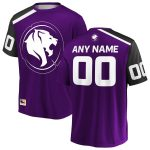 Los Angeles Gladiators Purple Overwatch League Home Custom Jersey