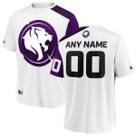 Los Angeles Gladiators White Overwatch League Away Custom Jersey