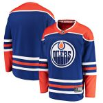 Fanatics Branded Edmonton Oilers Royal Alternate Breakaway Jersey