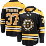 Fanatics Branded Patrice Bergeron Boston Bruins Black Breakaway Player Jersey