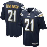 Nike LaDainian Tomlinson San Diego Chargers Navy Retired Player Game Jersey