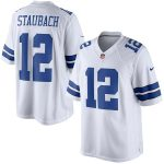 Nike Roger Staubach Dallas Cowboys White Retired Player Limited Jersey