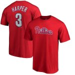 Majestic Bryce Harper Philadelphia Phillies Toddler Red Name & Number T-Shirt