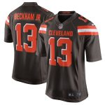 Nike Odell Beckham Jr Cleveland Browns Brown Game Jersey