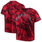 Nike Los Angeles Angels Red Camo Jersey