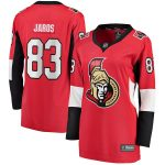 Fanatics Branded Christian Jaros Ottawa Senators Women's Red Home Breakaway Player Jersey