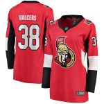 Fanatics Branded Rudolfs Balcers Ottawa Senators Women's Red Home Breakaway Player Jersey
