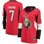 Fanatics Branded Brady Tkachuk Ottawa Senators Women's Red Home Breakaway Player Jersey