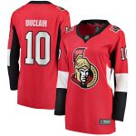 Fanatics Branded Anthony Duclair Ottawa Senators Women's Red Home Breakaway Player Jersey