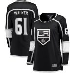 Fanatics Branded Sean Walker Los Angeles Kings Women's Black Home Breakaway Player Jersey