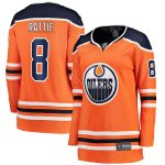 Fanatics Branded Ty Rattie Edmonton Oilers Women's Orange Home Breakaway Player Jersey