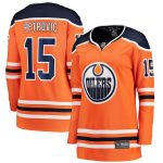 Fanatics Branded Alex Petrovic Edmonton Oilers Women's Orange Home Breakaway Player Jersey