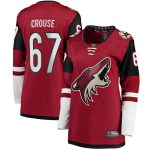 Fanatics Branded Lawson Crouse Arizona Coyotes Women's Garnet Home Breakaway Player Jersey