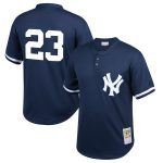 Mitchell & Ness Don Mattingly New York Yankees Youth Navy Cooperstown Collection Mesh Batting Practice Jersey