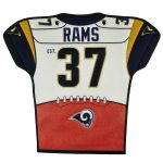 Los Angeles Rams 20'' x 18'' Jersey Traditions Banner