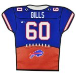 Buffalo Bills 20'' x 18'' Jersey Traditions Banner