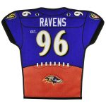 Baltimore Ravens 20'' x 18'' Jersey Traditions Banner
