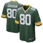 Nike Jimmy Graham Green Bay Packers Green Game Jersey