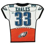 Philadelphia Eagles 20'' x 18'' Jersey Traditions Banner