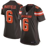 Nike Baker Mayfield Cleveland Browns Women's Brown Game Jersey