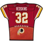 Washington Redskins 20'' x 18'' Jersey Traditions Banner