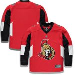 Fanatics Branded Ottawa Senators Youth Red Home Replica Blank Jersey