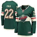 Kevin Fiala Minnesota Wild Fanatics Branded Women's Home Breakaway Player Jersey - Green