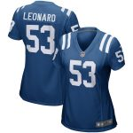 Nike Darius Leonard Indianapolis Colts Women's Royal Game Jersey
