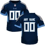 Nike Tennessee Titans Toddler Navy 2018 Custom Game Jersey