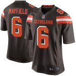 Nike Baker Mayfield Cleveland Browns Youth Brown Game Jersey