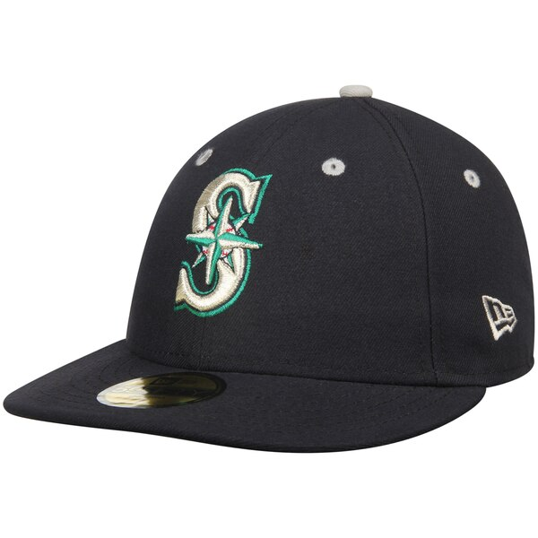 quality design ad43a 6ccbc New Era Navy Seattle Mariners 2T Patched Low Profile 59FIFTY Fitted Hat -  Gear Up For Sports