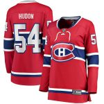 Fanatics Branded Charles Hudon Montreal Canadiens Women's Red Home Breakaway Player Jersey