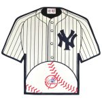 New York Yankees 14'' x 22'' Jersey Traditions Banner - White/Navy