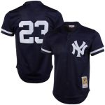 Mitchell & Ness Don Mattingly New York Yankees Navy 1995 Authentic Cooperstown Collection Mesh Batting Practice Jersey